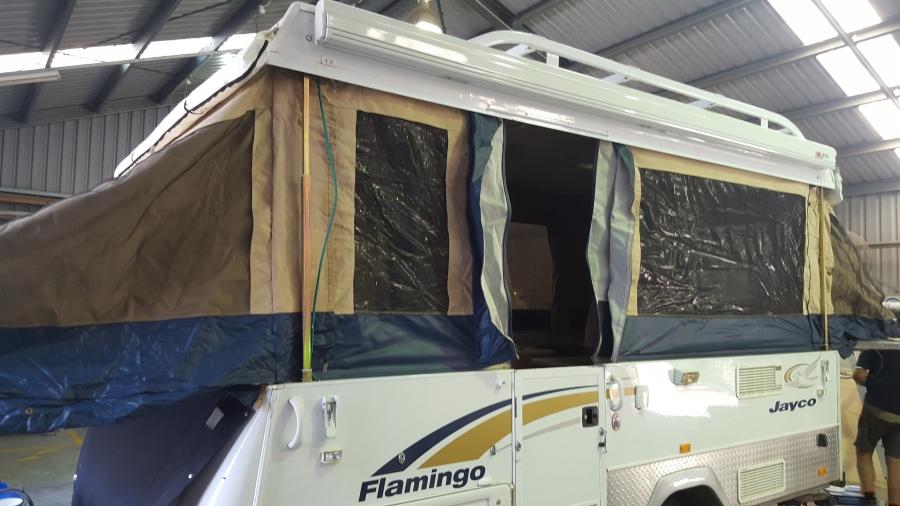 Gallery - James Caravan Repairs - Caravan, repairs, Paul