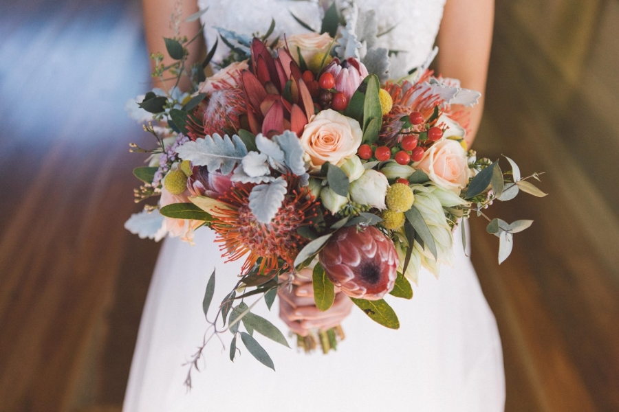 Beautiful Native Wedding Bouquet