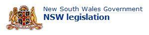 NSW Government Legislation