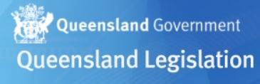 Queensland Legislation