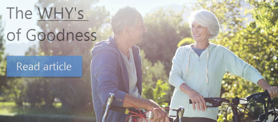 60PlusClub.com.au | The WHY's of Goodness