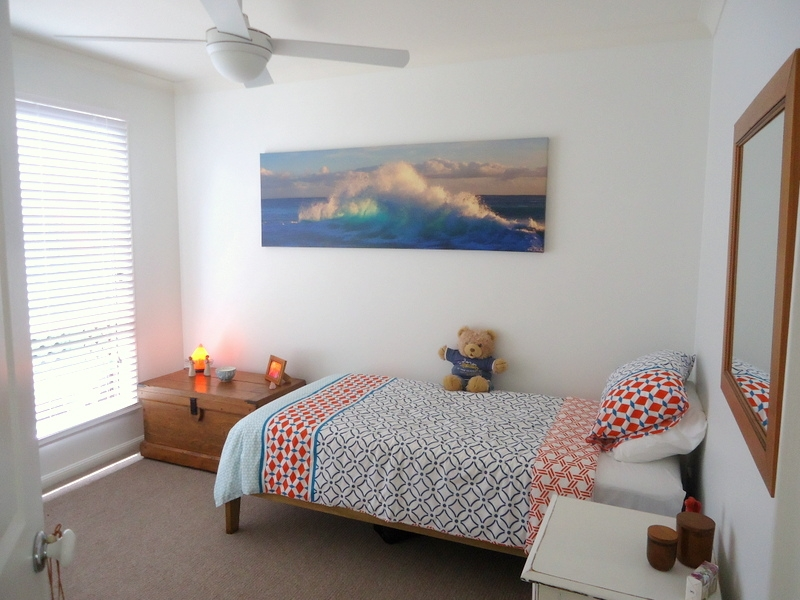 Capri Sands - Bedroom two. For sale at Bribie Pines Island Village