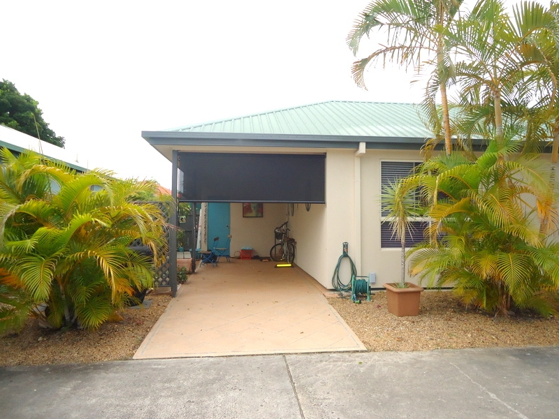 Capri Sands - Carport. For sale at Bribie Pines Island Village