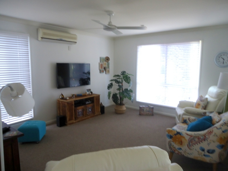 Capri Sands - Living room area. For sale at Bribie Pines Island Village