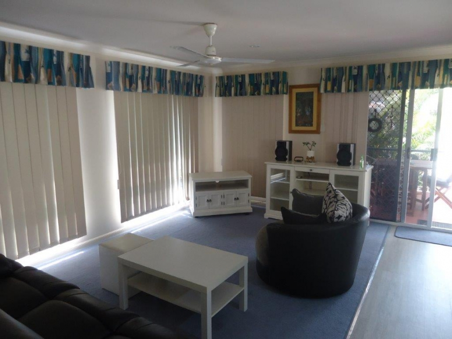 Verona Palms - Living room area. For sale at Bribie Pines Island Village