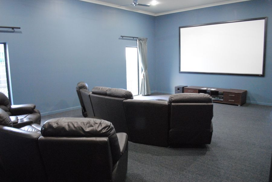 Recreational center - Cinema room. Island Breeze Resort image gallery - Bribie Island residential over 50s
