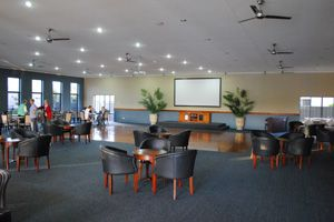 Island Breeze Resort - inside the leisure center