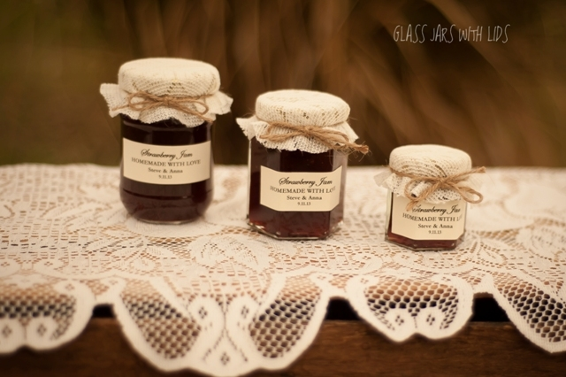 Glass Jars With Lids Food Preserving Jars Round Jam