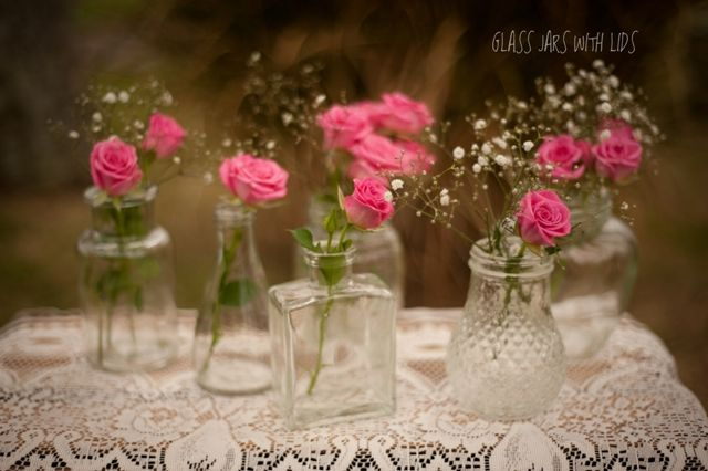 Rustic Wedding Flower Vases Rustic Glass Jars Use For