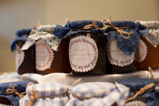 Baby Gifts Canberra Australia : Wedding bomboniere jars jam honey and lolly clear