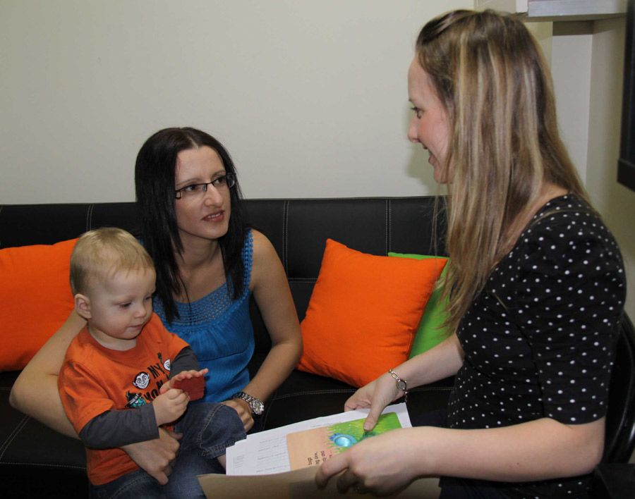 Parent feedback at the Let's Play Developmental Therapy Clayfield clinic