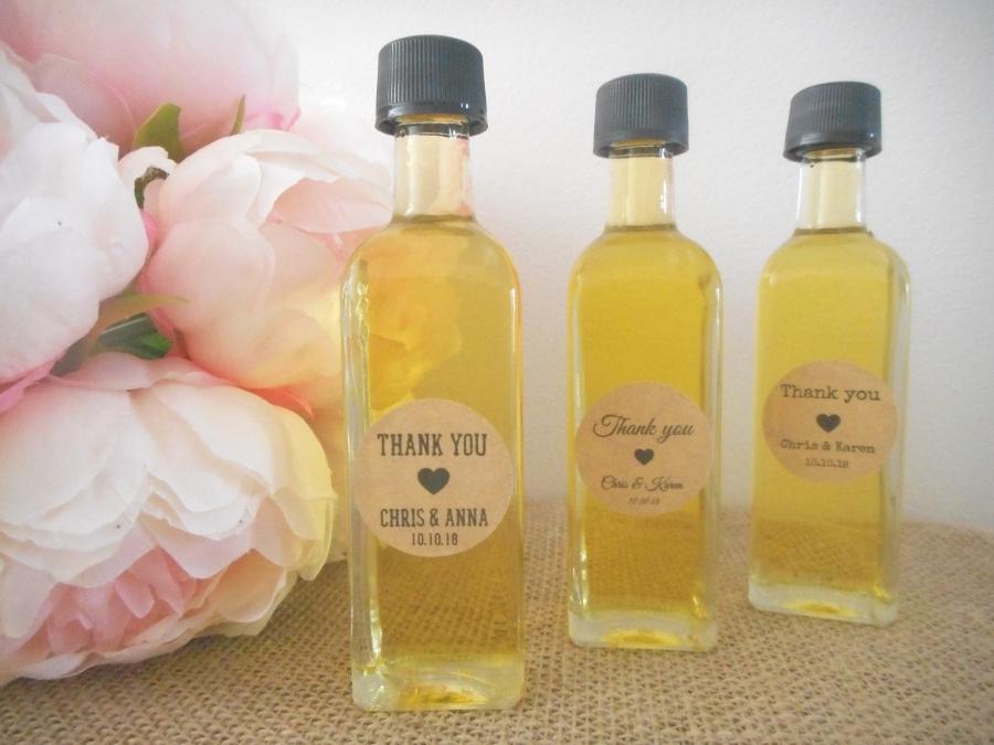 DIY Olive Oil Bottles Rustic Wedding Favours Australia