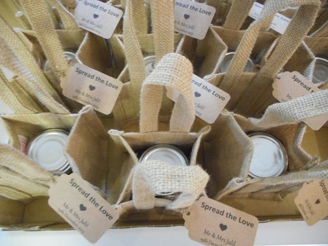 Wedding Gift Baskets Perth : Personalised Jam Jars Wedding Bomboniere, Jam Gifts with Personalised ...