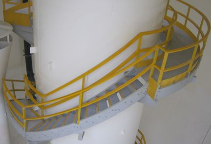 FRP Product Staircase Access System