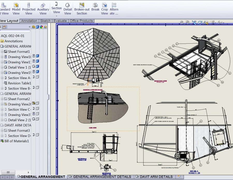 Engineering Design Drawing