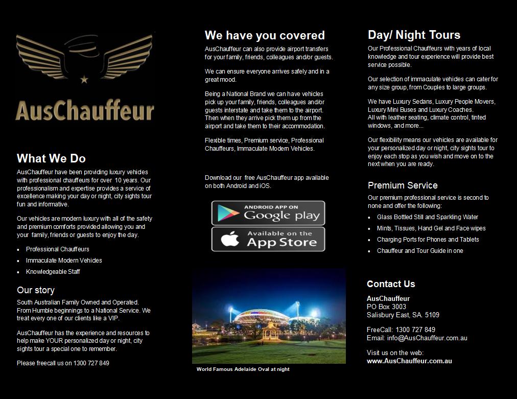 AusChauffeur Day or Night Tours