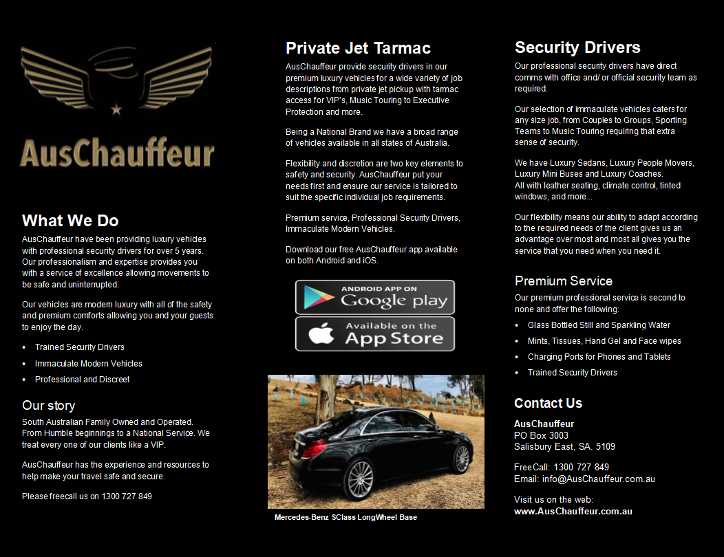 AusChauffeur Security Driver