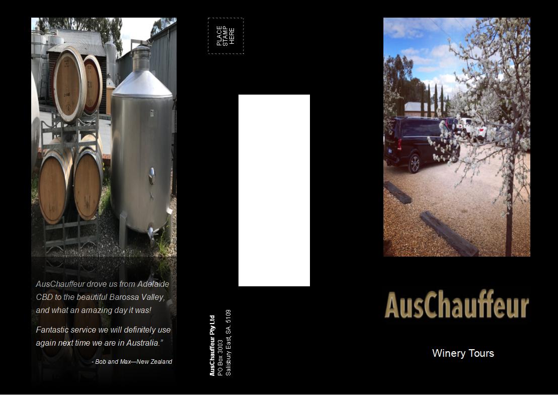 AusChauffeur Wine Tour